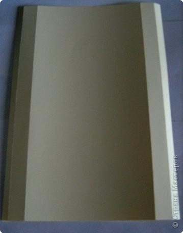 По просьбам жителей страны набросала инструкцию. Картинка делается из целого листа плотной бумаги: ватман, чертежная, сегодня я использовала плотную бумагу для принтера форматом А4 фото 2