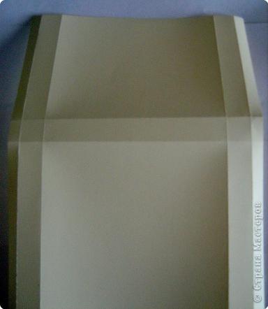По просьбам жителей страны набросала инструкцию. Картинка делается из целого листа плотной бумаги: ватман, чертежная, сегодня я использовала плотную бумагу для принтера форматом А4 фото 3