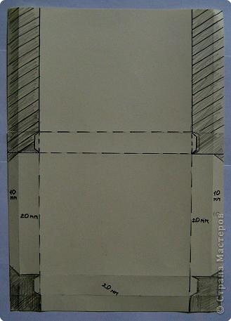 По просьбам жителей страны набросала инструкцию. Картинка делается из целого листа плотной бумаги: ватман, чертежная, сегодня я использовала плотную бумагу для принтера форматом А4 фото 4