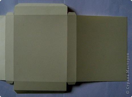По просьбам жителей страны набросала инструкцию. Картинка делается из целого листа плотной бумаги: ватман, чертежная, сегодня я использовала плотную бумагу для принтера форматом А4 фото 5