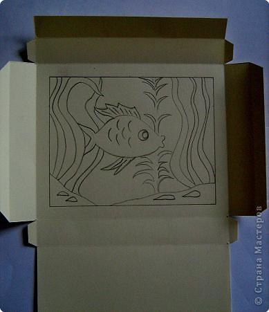 По просьбам жителей страны набросала инструкцию. Картинка делается из целого листа плотной бумаги: ватман, чертежная, сегодня я использовала плотную бумагу для принтера форматом А4 фото 6