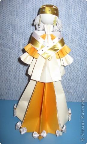 Оригами модульное: Кукла