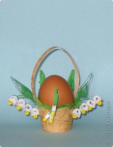 Корзиночка для Пасхального яичка. фото 1