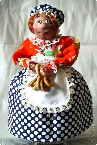 Кукла-грелка на самовар фото 1