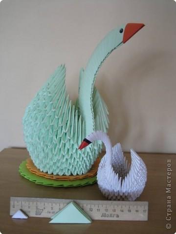 Еще модульные птички и другие поделки фото 4