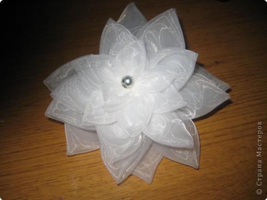Шитьё: Цветок из кругов фото 2