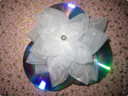 Шитьё: Цветок из кругов фото 3