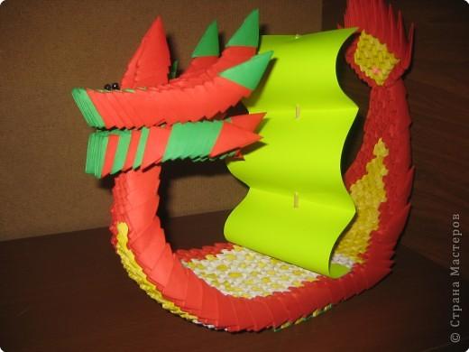 Оригами модульное: лодка
