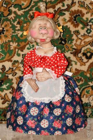 Кукла-грелка на самовар фото 2