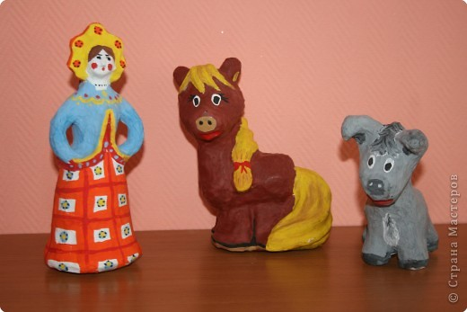 """игрушки Папье-маше """" ProstoDelkino.com - поделки своими руками."""