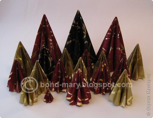 """Оригами: Мастер-класс """"Императорская семья"""" фото 3"""