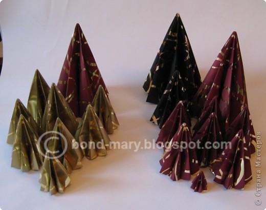 """Оригами: Мастер-класс """"Императорская семья"""" фото 4"""