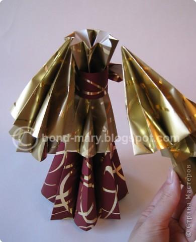 """Оригами: Мастер-класс """"Императорская семья"""" фото 13"""