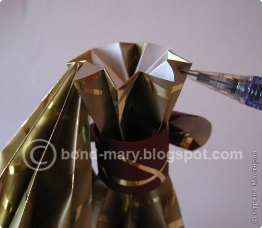 """Оригами: Мастер-класс """"Императорская семья"""" фото 14"""