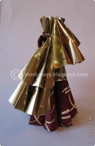"""Оригами: Мастер-класс """"Императорская семья"""" фото 16"""