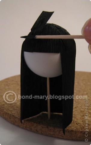 """Оригами: Мастер-класс """"Императорская семья"""" фото 22"""