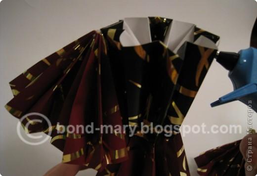 """Оригами: Мастер-класс """"Императорская семья"""" фото 38"""