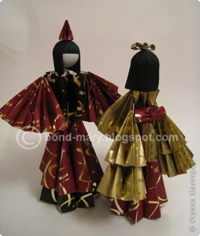 Оригами: Императорская семья (куклы) фото 2