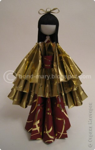 Оригами: Императорская семья (куклы) фото 3