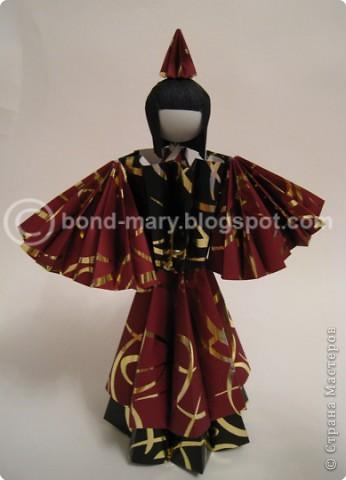 Оригами: Императорская семья (куклы) фото 5