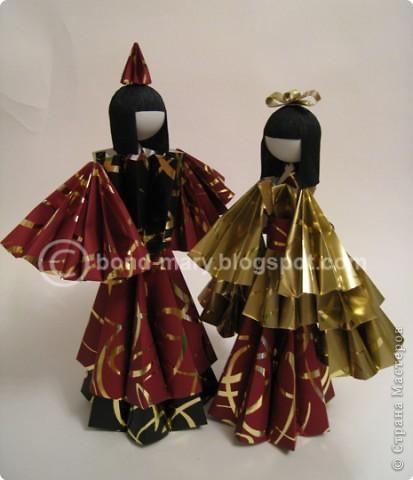 Оригами: Императорская семья (куклы) фото 1