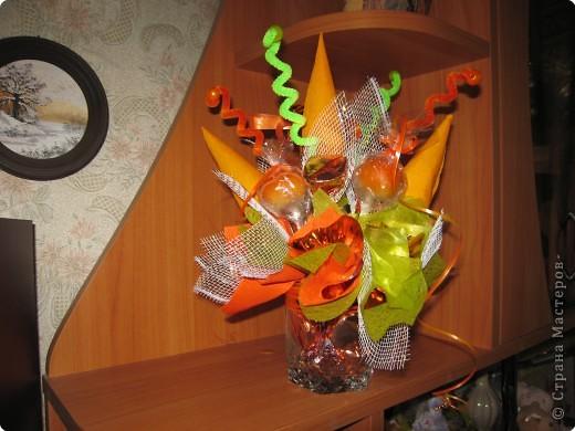 Моделирование: Букет из конфет фото 2