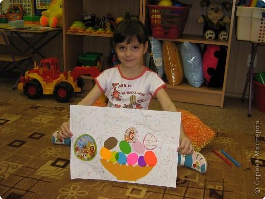 Свой работой я  очень довольна, подарю её бабушке. фото 1