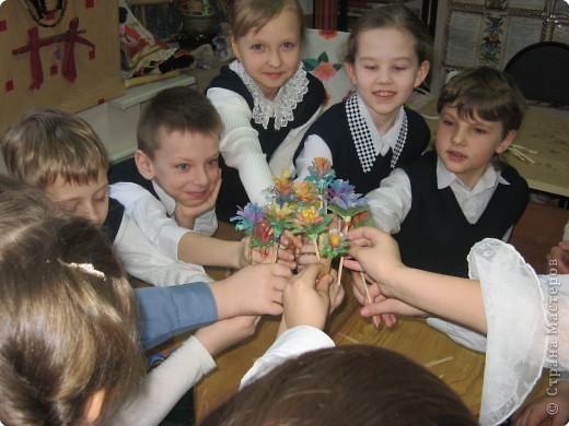 Цветок на Пасхальный кулич