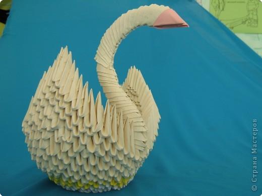 Оригами модульное: Лебединое озеро фото 1