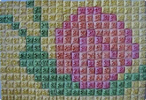 Оригами модульное: Улитка