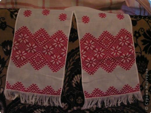 Вышивка: Рушник