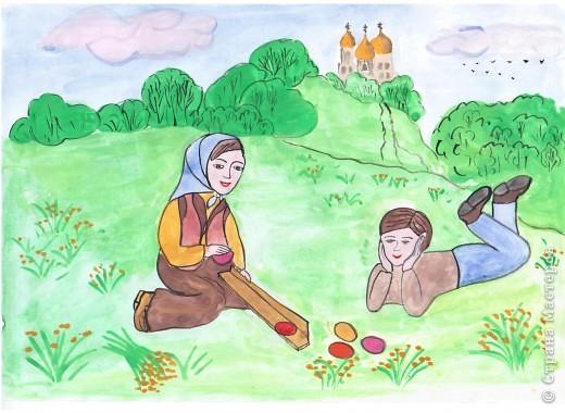 Пасхальные игры детей фото 1