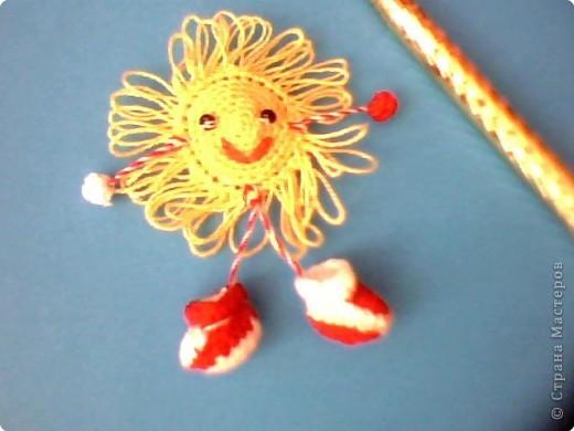 Вязание крючком: Пусть всегда будет солнце!!!!!!!!