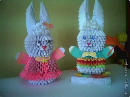 Оригами модульное: подарок