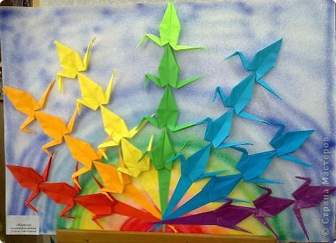 "Оригами: ""Журавли"", оригами"