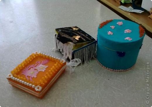 Шкатулки, ткань, фурнитура фото 1