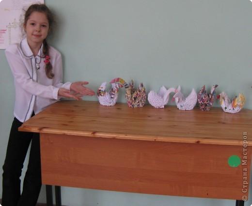 Оригами модульное: Лебединое царство фото 2