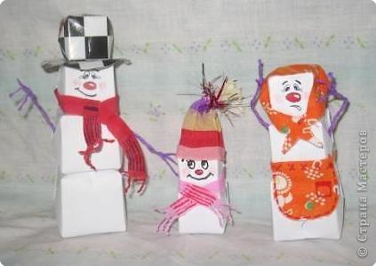 снеговички просто класс