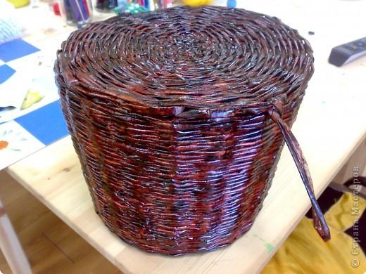 Плетение: Корзинка