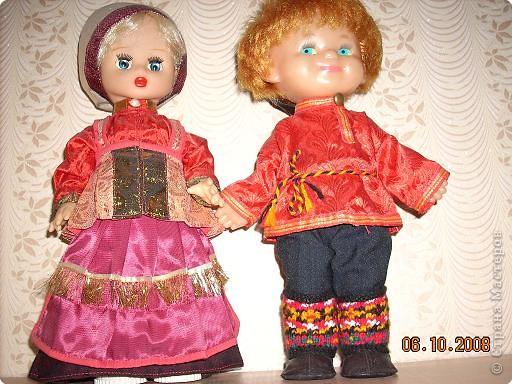 Куклы вдогонку к репортажу.