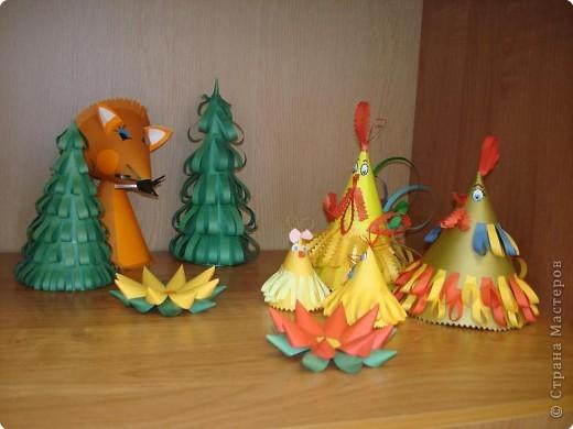 Моделирование: Куриное семейство
