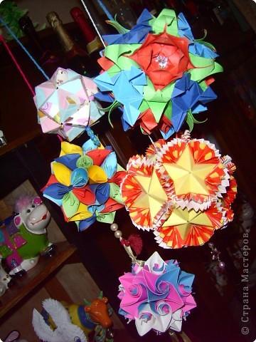 Оригами модульное: китайский кораблик фото 6