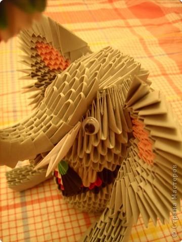 Оригами модульное: слоник фото 4
