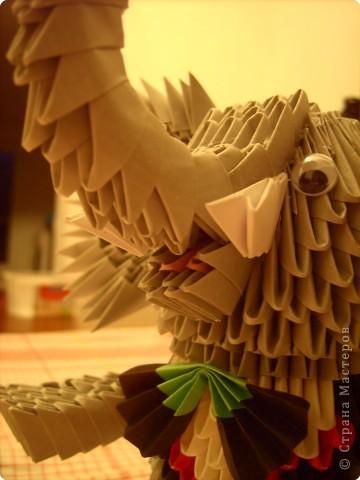 Оригами модульное: слоник фото 6