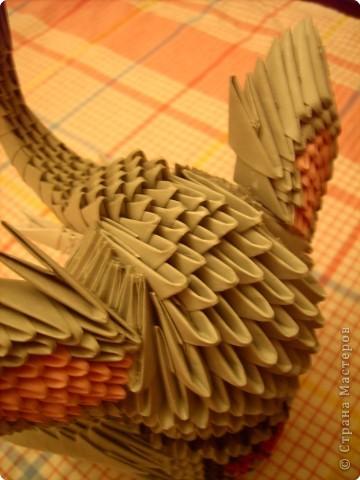 Оригами модульное: слоник фото 7
