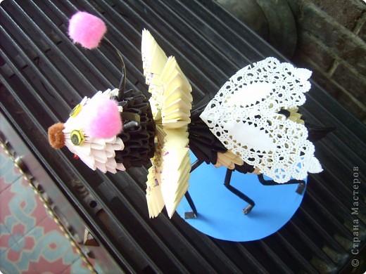 Оригами модульное: пчелочка  фото 5