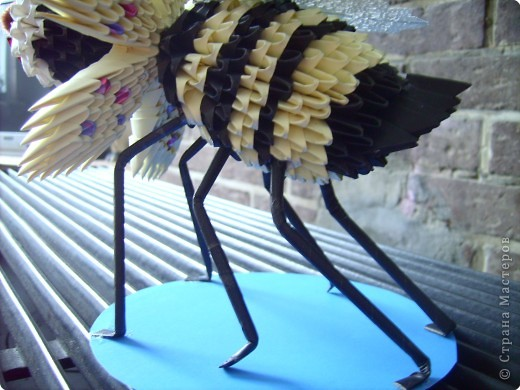 Оригами модульное: пчелочка  фото 6
