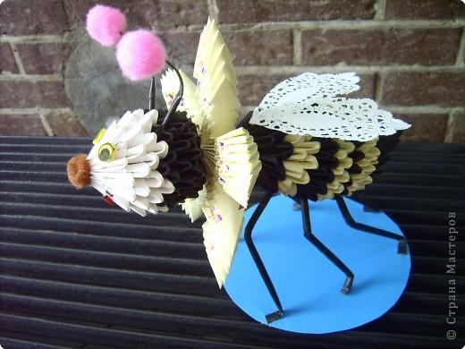 Оригами модульное: пчелочка  фото 1