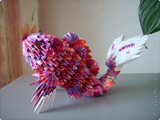 Оригами модульное: золотая рыбка  2 фото 1