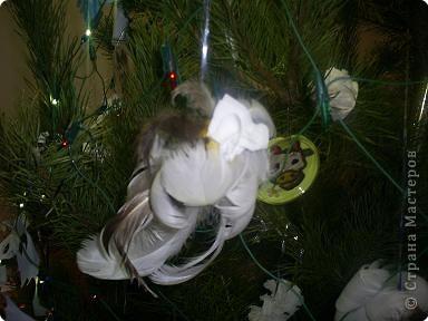 Игрушки из перьев. фото 1
